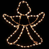 Christmas Rope Light Silhouette by Animated Santa On Bike Rope Lights Silhouette Outdoor Christmas
