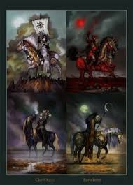 the four horsemen of the apocalypse by katiealves deviantart com