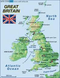 map uk ireland scotland the uk englishošaca