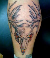 25 fantastic hunting tattoos creativefan tattoona