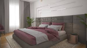 Bedroom Design 3ds Max 3ds Max Interior Tutorial Bedroom Vray Rendering Photoshop Youtube