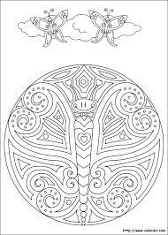 mandalas papillon mandalas u2013 coloriages à imprimer