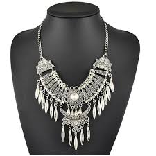 big statement necklace images 2017 brand fashion boho big gem maxi statement necklace pendants jpg