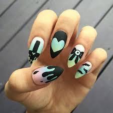 best 25 pastel goth nails ideas on pinterest pretty nail
