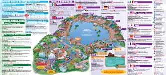 Magic Kingdom Map Orlando by Maps