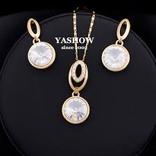 aliexpress buy new arrival 18k real gold plated aliexpress buy new arrival jewelry sets for woman 18k gold