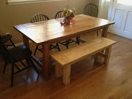 country kitchen table with bench a good 54 pictures grey farmhouse table delightful tuppercraft com