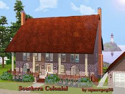 Southern Colonial House Sims 3 Updates Downloads Objects Buildings Page 401