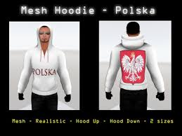 second life marketplace mesh hoodie polska hood up or down