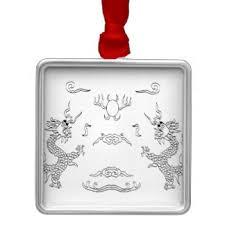 black white ornaments keepsake ornaments zazzle