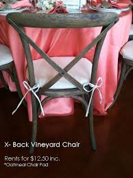 party rentals santa barbara 11 best vineyard chair images on vine yard vineyard