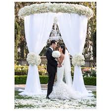 wedding arch rental services cmc party rentals