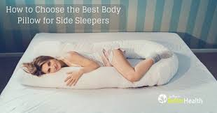 bed pillows for side sleepers best body pillow for side sleepers 2018 reviews ratings