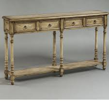 Ivory Console Table Distressed Console Table Palquest