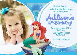 mermaid birthday invitations ideas u2013 bagvania free printable