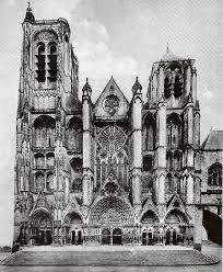 Medieval Cathedral Floor Plan Le Mans And Bourges Cathedrals Medieval Space Technology