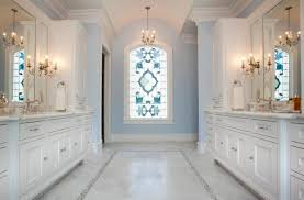 Ideas Design For Arched Window Mirror Simply Stained Glass Window Design In A White Door For Wonderful