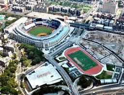 Yankee Stadium Map Yu U0026 Associates Parking And Sports Facilities At Yankee Stadium