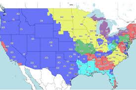 Nfl Tv Schedule Map Denver Broncos Vs Arizona Cardinals Tv Broadcast Map Nfl Week 5