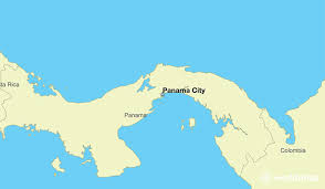 map of panama city where is panama where is panama located in the panama
