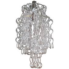 White Murano Chandelier by Lighting Product Categories L Antiquaire