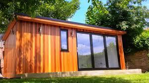 Sips Cabin by Garden Room Using Western Red Cedar No 2 Clear U0026 Better Tgv