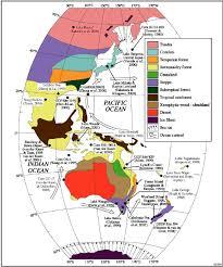 Pollen Map Peter Kershaw Monash University Australia Melbourne