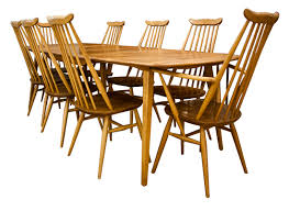 Ercol Dining Table And Chairs Stylish Ercol Dining Table 1960s Ercol Plank Dining Table In Elm