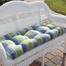 Striped Cushions Online Charming Outdoor Swing Bench Cushion Color Striped Green And
