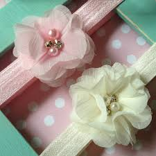 baby flower headbands single betsy soft baby flower headband