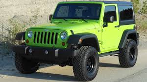 jeep rubicon 2017 pink lime green jeep wrangler