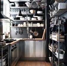 ikea edelstahl küche edelstahl küche 58 elegante beispiele archzine net