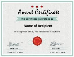Exle Certification Letter For Honor Student 27 Printable Award Certificates Achievement Merit Honor