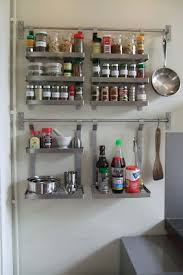 home organization ikea spice racks for space saving solutions