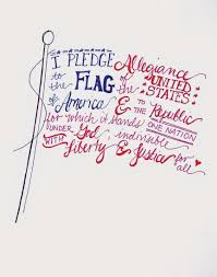 Flags Of The World Free Printable Free Hand Lettered Flag Printable For The Fourth Of July Diy