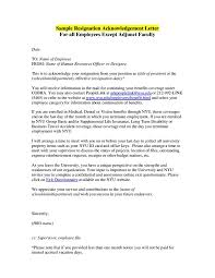 Letter For Vacation Request 28 Acknowledgement Letters Free Samples Examples Formats