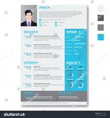 resume templates website vector creative minimalist cv resume template stock vector vector creative minimalist cv resume template with photo frame and infographic charts casual solid