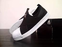 Sepatu Adidas Slip On jual sepatu adidas slip on black white roemah sepatu