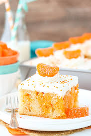 orange creamsicle poke cake life love and sugar
