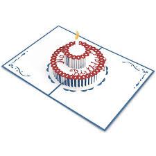 birthday cake pop up birthday card lovepop