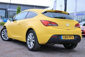 opel yellow used yellow vauxhall astra for sale rac cars