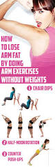 how to lose arm fat by doing arm exercises without weights lose