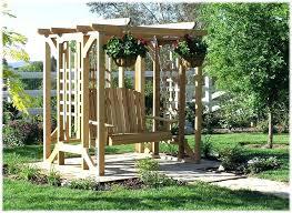 arbor swing plans garden arbor wooden garden arbor swings wood garden arbor plans