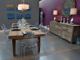purple and grey dining room house design ideas eclectic purple and gray dining room with rustic dining table