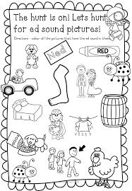 cvc worksheets ed words teacha