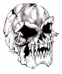 best 25 evil skull tattoo ideas on pinterest girly skull