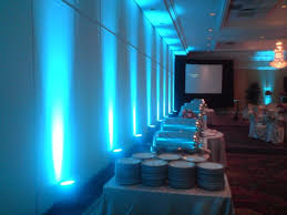 wedding backdrop led 3 watt blue landscape backdrop wedding reception party stage led