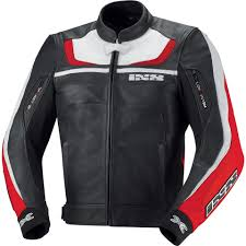 mtb jackets sale ixs shertan leather jacket black white red motorcycle jackets