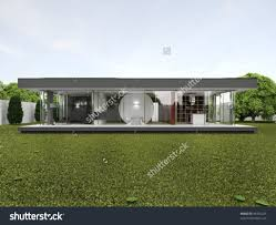 home design backyard of very modern house bungalow design