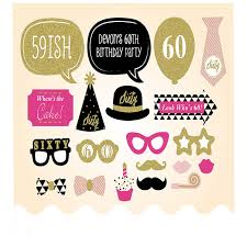birthday for 60 year woman 20 pieces 60th happy birthday party decorations supplies